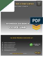 Segredos Banca Cespe Atualizado 16-11-2016