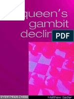 Matthew Sadler Queens Gambit Declined Everyman Chess 2000