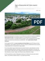 07-08-2018 Pavlovich Pide Obligar a Buenavista Del Cobre Resarcir Daños en Río Sonora - El universal