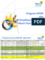 Progress Survey GPON Dan Usulan Simplikasi Area Code 2011