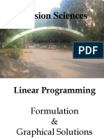 MBA Linear Programming