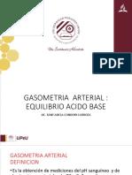 GASOMETRIA  ARTERIAL1