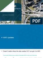 Public Cloud-Commvault New Features