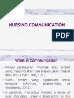 1. Nursing Communication