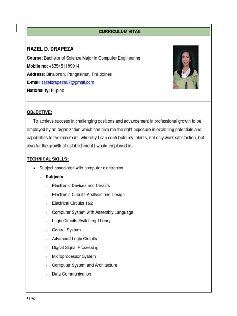 razel docx | Electronic Circuits | Electronics