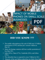 Impact of Mobile in the Small Business