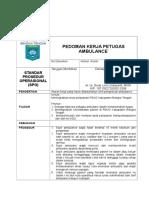 SPO pedoman kerja petugas ambulance.doc