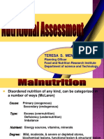 Nutritional Assessment DepED