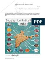 16 Geographical Indication {GI} Tags in India Memorize Faster.pdf