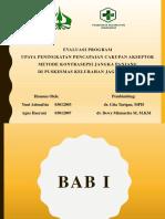 Evaluasi Program MKJP Jagakarsa I 12.00