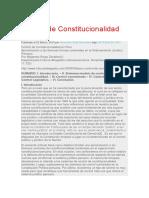 Control de Constitucionalidad en Peru