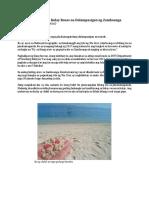 Mindanao Beach Blog