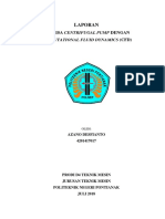 Analisa Centrifugal Pump Dengan Computational Fluid Dynamics (Cfd)