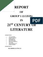 LUZON LITERATURE