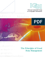 The Principles of Good Data Management Guidebook
