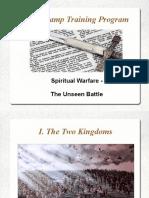 Spiritual warfare presentation