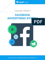 Facebook Advertising System LeadPages Transcripts 09