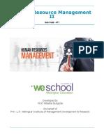 Human Resource Management II 471 v2