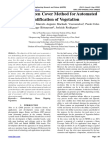 Index Set Green Cover Method for Automated Identification of Vegetation