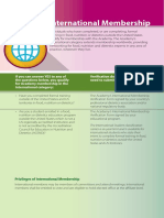 InternationalMembership Brochure