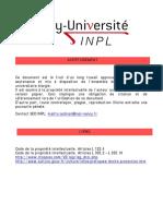 Calcul Enthalpie.thèse 2005 SOLLIER A