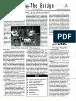 The Bridge | Volume 22, Issue 2 | 3 July 1999