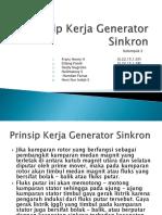 Prinsip Kerja Generator Sinkron (PPT)