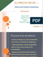 Respirasi & Proses Oksigenasi Kel 7 Reguler 1