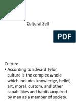 Cultural Self