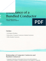 Report 5 Inductance of a Bundled Conductor