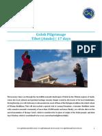 Golok Pilgrimage 2016