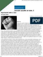 Paolo Selmi_ Appunti Per Un Rinnovato Assalto Al Cielo. I