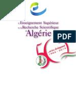 L'Enseignement Supérieur Et La Recherche Scientifique en Algérie