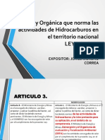 Presentacion Ley Organica 26221