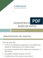 Administracion BD