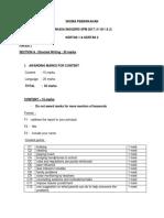 2017 - English Penang_Mark Scheme