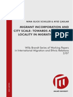 Migrant incorporation and city scale