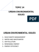 Topic 13 - Urban Environmental Issues. (Addition) (2)
