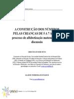 PROCESSO DE ALFABETIZAÇÃO.