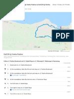 Tour de KOGI 2018 Route Plantera