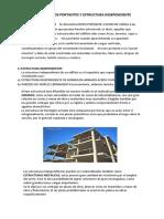 5 Tp. Muros Portantes y Estructura Independiente
