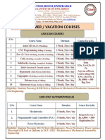Summer Vacation Coursess 2016 (1)