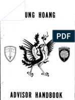 1970 Vietnam Phoenix Program Advisor Handbook