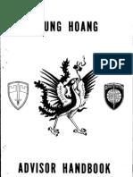 1970 Vietnam Phoenix Program Advisor Handbook