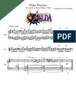 Zelda - Majora - Piano Practice