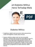 Pengaruh Diabetes Militus Dan Hipertensi Terhadap Mata