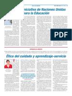 Ética Del Cuidado y Aprendizaje-servicio