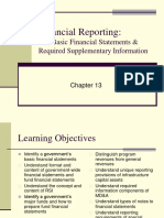 Chapter 13  Financial Reporting