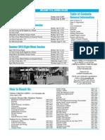 ECC Summer 2010 Class Schedule