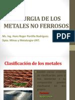 Clase 1 Metales No Ferrosos